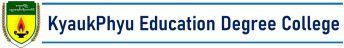 Kyaukphyu Education Degree College